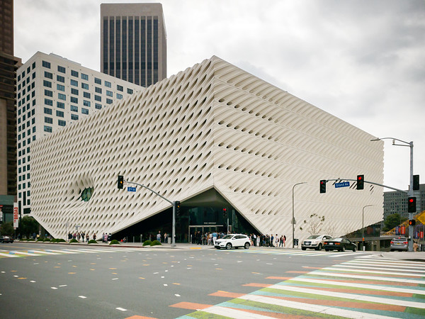 This is our destination...The Broad