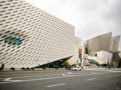 Here's a hint...we're somewhere near the Walt Disney Concert Hall