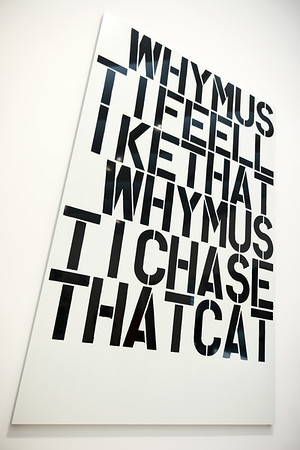 Why? by Christopher Wool
