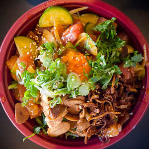 We are seriously addicted to King Poke's bowls