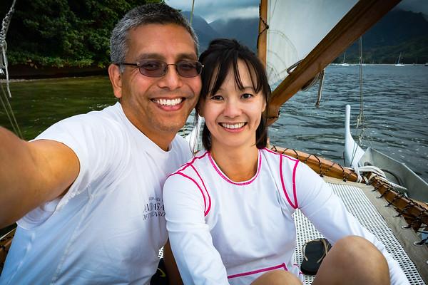 Sailboat selfie!