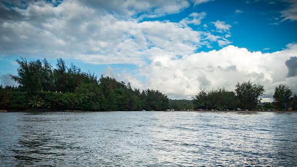 Hanalei River and Black Pot Beach