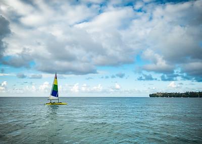 Outrigger sailing kayak?
