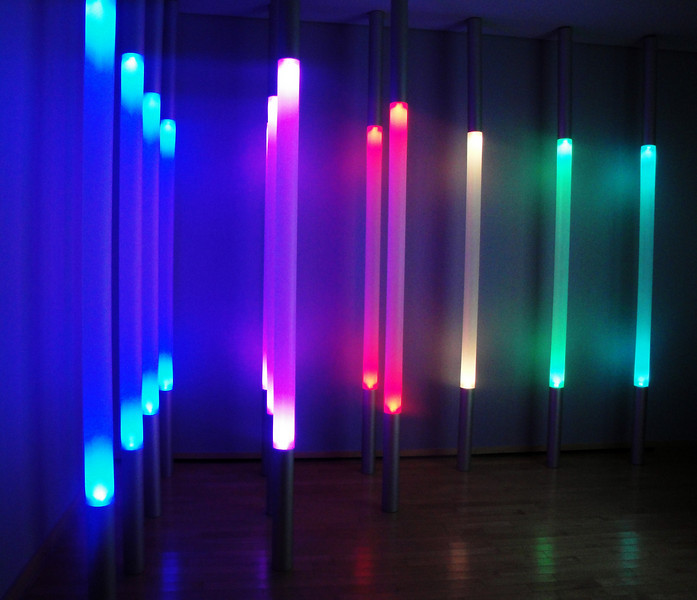 Light Exhibit at Vancouver Art Gallery