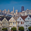 The Painted Ladies (Color)<br /> <br /> Tech:<br /> Camera | Nikon D80<br /> Lens | Nikkor 18-200mm<br /> Exposure | 1/250sec;  f/11; ISO 100<br /> Filters: None