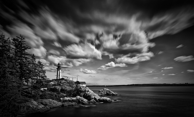 The Lighthouse<br /> <br /> Tech:<br /> Camera | Nikon D80<br /> Lens | Nikkor 12-24mm<br /> Exposure | 30sec;  f/11; ISO 100<br /> Filters: B+W 110 ND