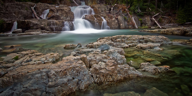 Myra Falls<br /> <br /> Tech:<br /> Camera | Nikon D80<br /> Lens | Nikkor 12-24mm<br /> Exposure | 30sec;  f/11; ISO 100<br /> Filters: B+W 110 ND
