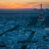 Sunset over the 7th Arrondissement<br /> <br /> Tech:<br /> Camera | Nikon D7100<br /> Lens | Nikkor 18-200mm; at 36mm<br /> Exposure | 0.8 sec; f/11; ISO 100<br /> Filters: Cokin ND Gradient