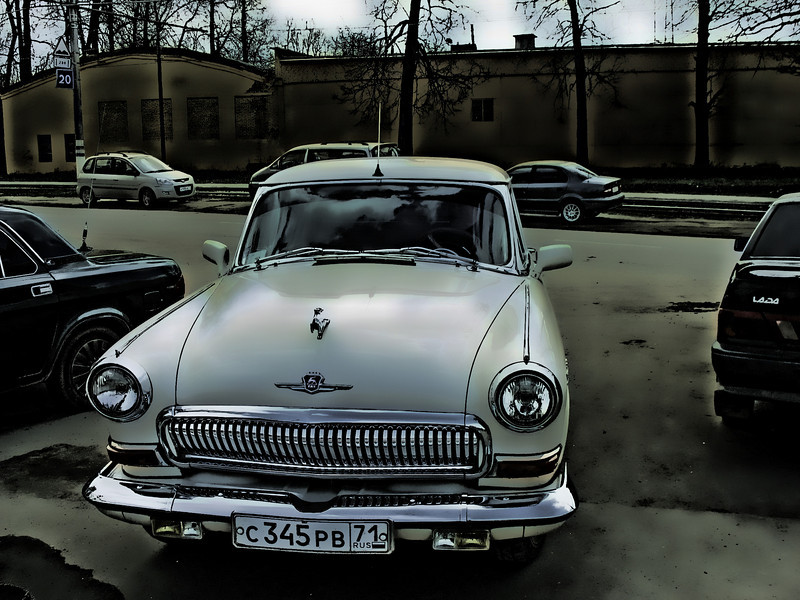 '60s era Volga in mint condition.  № 1