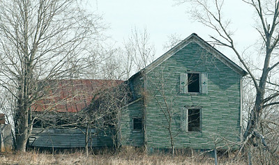 Abandoned house, Missouri.