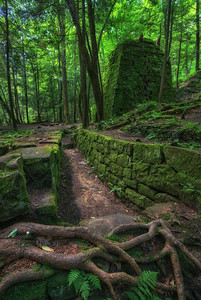 Iron furnace in Rockland, PA