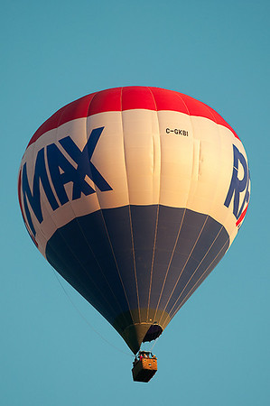 Remax Balloon flyby