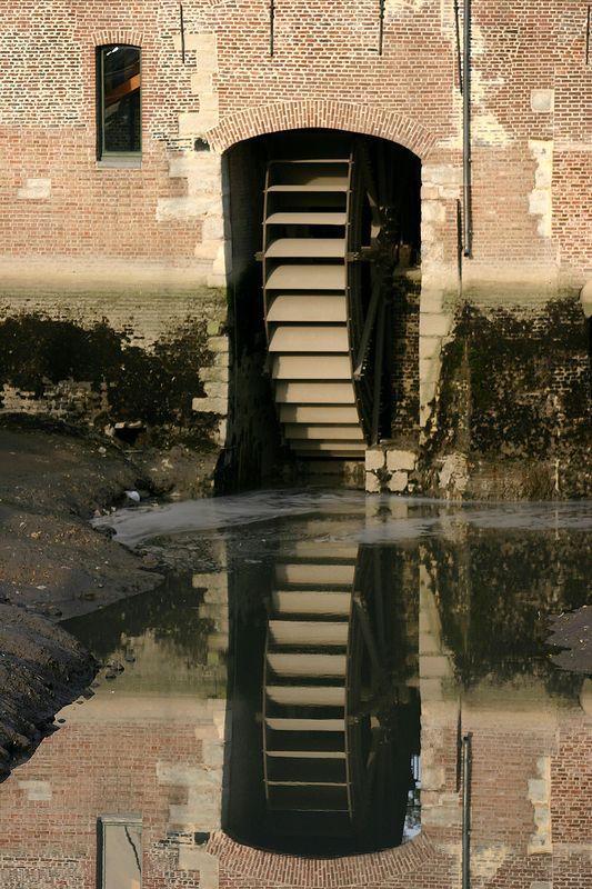 Rupelmonde - watermolen (getijdemolen)