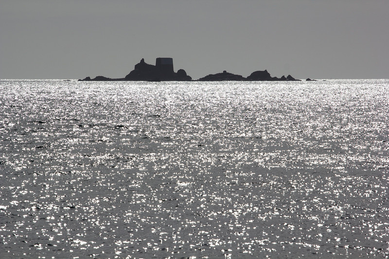 The view at Green Island in the Channel Island of Jersey.