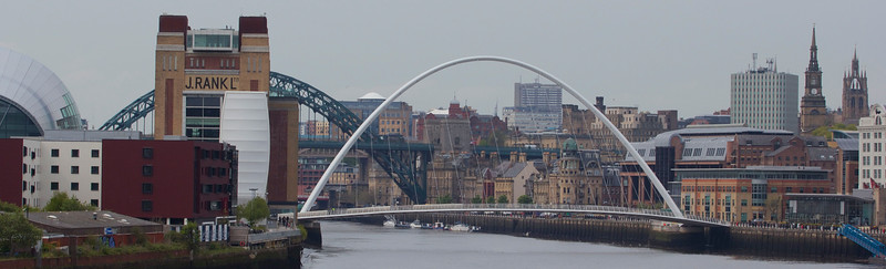 Curvature of the Tyne 2.