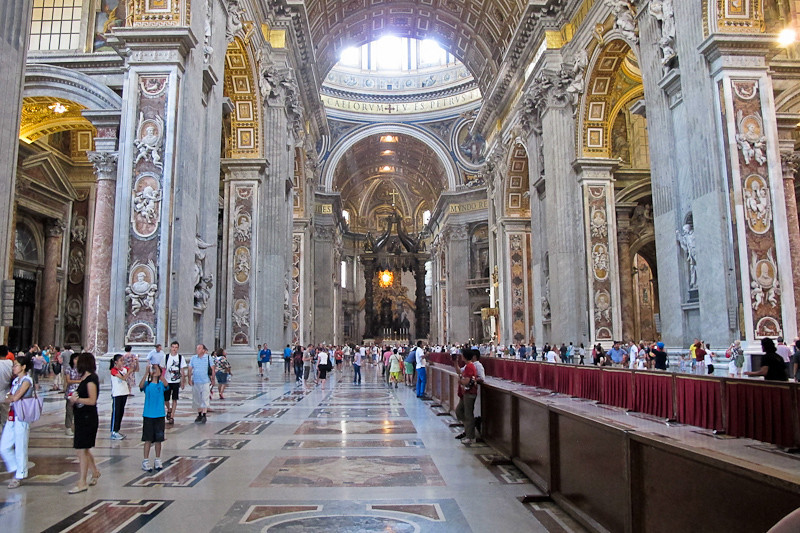 The Nave, St. Peter's Basilica