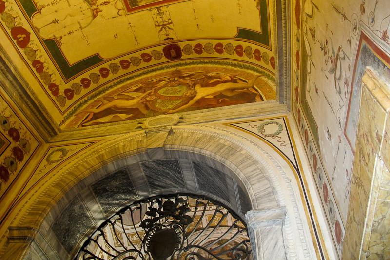 Vatican Museum ceiling detail