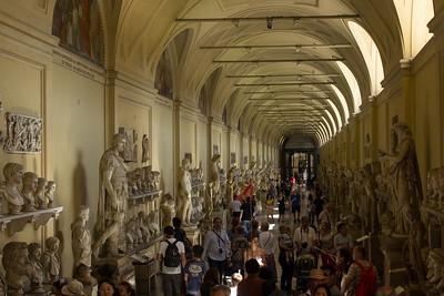 Hall in the Vatican Museum