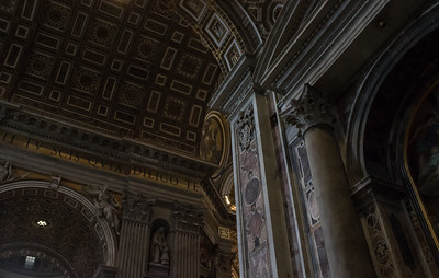 Details of the Interior of St. Peter's Basilica