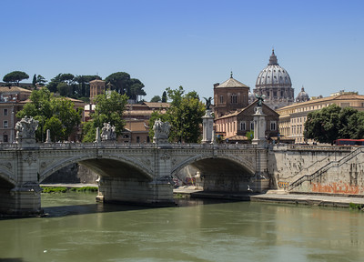 Tiber River near Vatican City