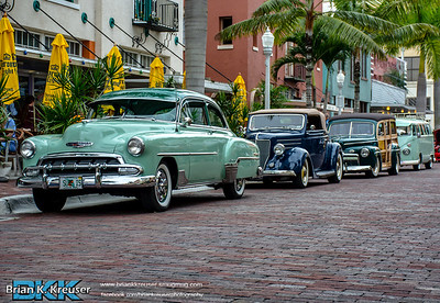 Fort Myers Downtown Cruise In NOV 2014