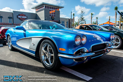 Corvettes on the Gulf Car Show