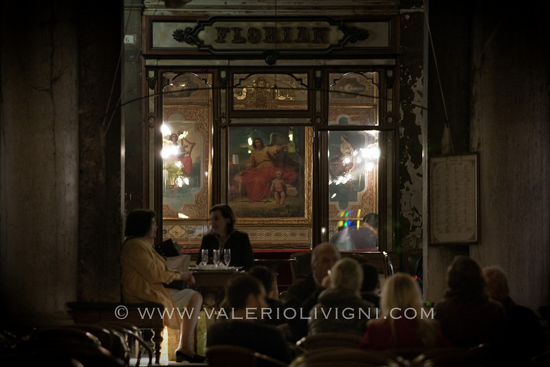 Florian Café opened since 1729 - S.Marco Square - Venezia (IT)