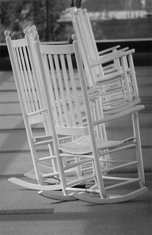 Rocking Chairs at Airport