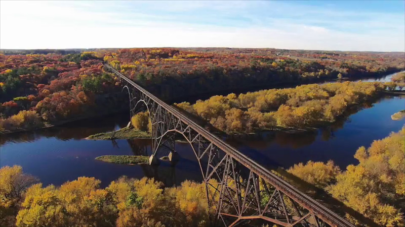 High Bridge over the St. Croix River MN/WI USA
