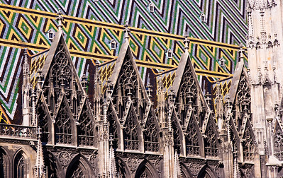 Roof detail on the Stephansdom