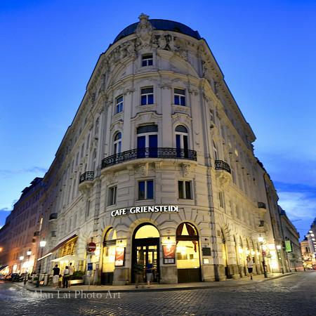 Cafe Griensteidl in Michaelerplatz