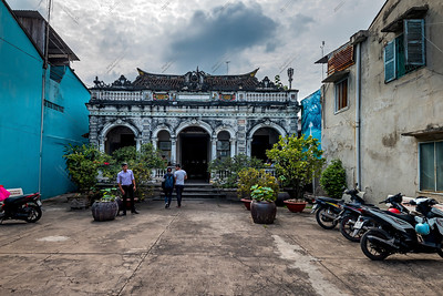 The house of Huynh Thuy Le, Sa Dec city, Vietnam
