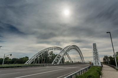 Bridge and Sun