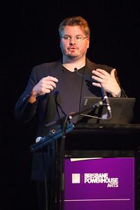 Vincent Laforet in Brisbane; Visy Theatre, Brisbane Powerhouse, New Farm, Brisbane, Queensland, Australia; 02 September 2013. Photos by Des Thureson - http://disci.smugmug.com.