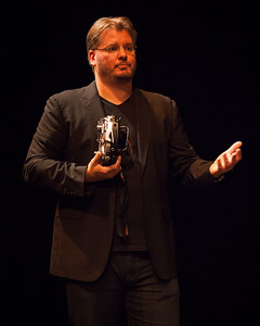 Demonstration of the Movi  by Freefly - Vincent Laforet in Brisbane; Visy Theatre, Brisbane Powerhouse, New Farm, Brisbane, Queensland, Australia; 02 September 2013. Photos by Des Thureson - http://disci.smugmug.com.
