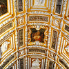 St Marks Basilica Ceiling in Venice Italy
