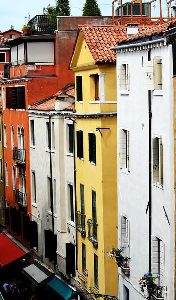Near St Mark's Square in Venice Italy