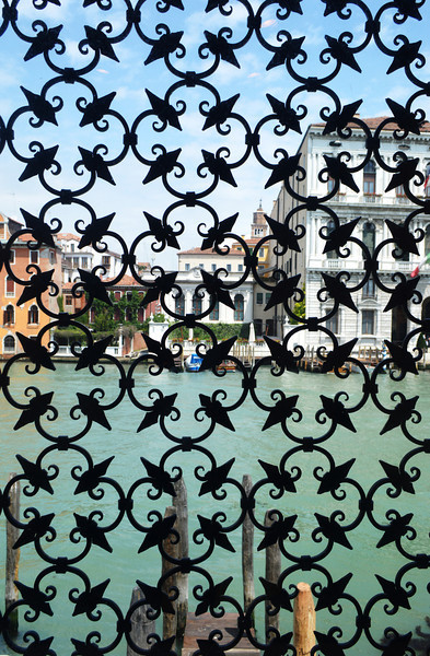 View From Peggy Guggenheim's House in Venice Italy