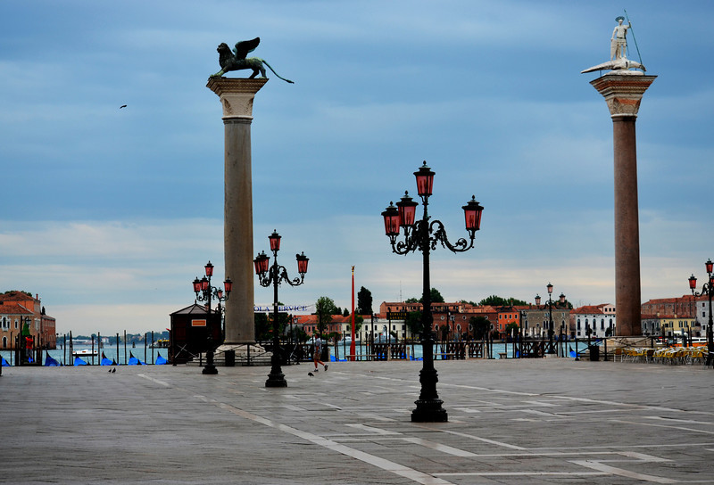 Early Morning at St Mark's Square in Venice Itally