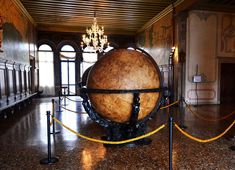 Globe Inside St Marks Basilica in Venice Italy