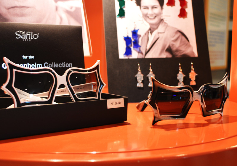 Peggy Guggenheim was known for her Designer Sunglasses
