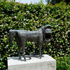 Sculpture in Peggy Guggenheim's Garden in Venice Italy