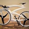 futuristic Bicycle in the Guggenheim Museum in Venice Italy