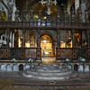 Inside Basilica at St Marks Square in Venice Italy