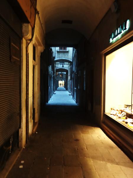 Narrow Walkways in Venice Italy