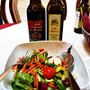 Salad with Olive Oil and Balsamic Vinegar in Venice Italy