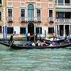 Gondola Ride Along Canals of Venice Italy