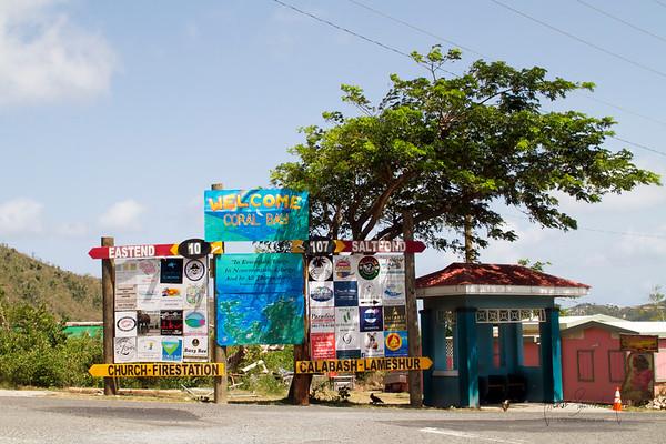 Coral bay corner