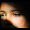 "<center><h2>""Those Eyes""</h2></center> <em><center>details best seen @ size X3</center></em> While walking through my kids TV room last night I noticed a great beam of natural sunlight coming through the front window as the sun was going down and then saw my daughter Alexa's eyes catching the light as well. So I made her get off the couch (I know I'm a terrible Dad LOL) and had her stare out of the window. I should have went to get my 50mm Nikkor or 90mm Tamron for this Portrait to get a sharper image but I was lazy and stuck with the 18-200 VR that was on the body but I think it did a fine job, impressed me really. When seen as large as possible you can see each individual eye lash reflected on her retina, pretty cool!  I then hit this with my normal Portraiture work flow & slight glamour treatment, removed a bunch of small hairs in between the nose, shaped her brows and did some very minor burning to bring out her cheek bone a little bit and that's it. The shadow is all natural just using proper exposure settings and shooting tight to prevent any of the background in the room from showing. Alexa's eyes are usually a nice blue but she was wearing a purple shirt which turns them a wild greenish aqua blue seen here. She's my favorite model and loves to have her photo taken so we both make out on the deal whenever I want to do a portrait to keep my skills sharp ;) I like this one so much I'll be ordering it in a large format lustre print or possibly a canvas to hang on my office wall! ~I just love my kids ~ Hope you all like it, Have a Great Day everyone !  <span style=""color:red""><em>PS: This image has been the #1 Rated photo on my site since it's post date. Please click on the 'Green Thumbs Up' sign over the image if you agree to keep it rated #1 </em></span>  ~Bill~"