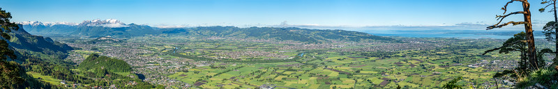 Panorama Rheintal 85mm